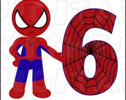 Spider-Man clipart spiderman birthday