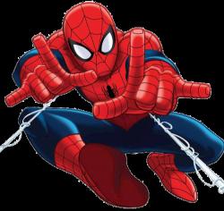 Spiderman clipart invited