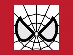 Spiderman clipart template