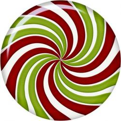 Spiral clipart christmas candy