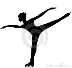 Spiral clipart figure skating