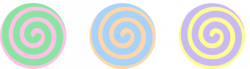 Spiral clipart swirl candy