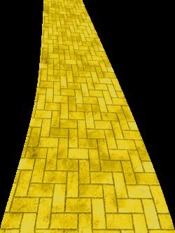 Spiral clipart yellow brick road