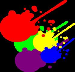 Splatter clipart splatter art