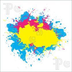 Splatter clipart splattered paint