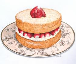 Sponge Cake clipart