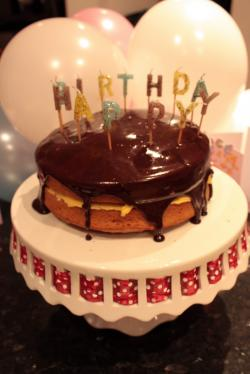 Sponge Cake clipart custard
