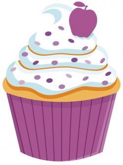 Vanilla Cupcake clipart kartun