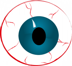 Spooky clipart eyeball