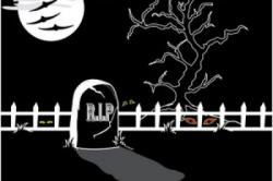Cenetery clipart spooky cemetery