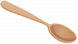 Fork clipart wooden spoon