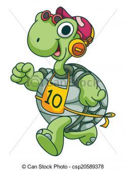Tortoise clipart run