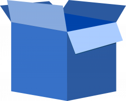 Container clipart closed box