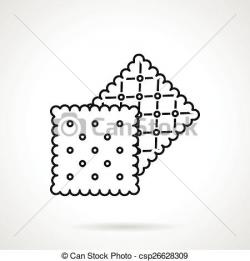 Biscuit clipart square biscuit