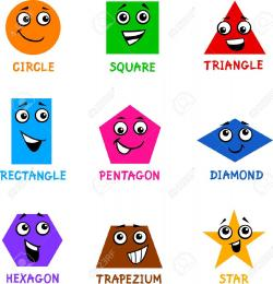 Polygon clipart funny shape