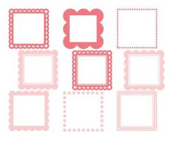 Square clipart cute