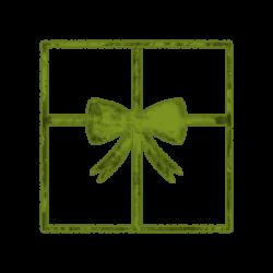 Square clipart gift box