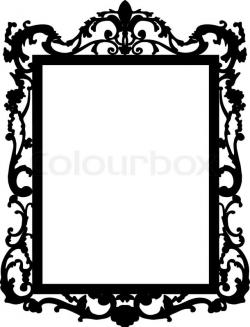 Squares clipart mirror frame