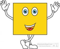 Squares clipart cartoon
