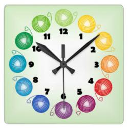 Squares clipart square wall clock