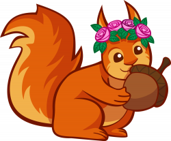 Kopel clipart squirrel