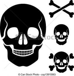 Ssckull clipart bone symbol