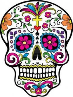 Skullcandy clipart dia de los muertos altar