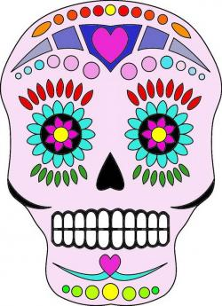 Sugar Skull clipart day the dead