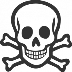 Skull clipart disease