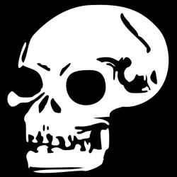 Ssckull clipart drawn