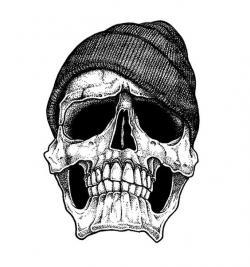 Ssckull clipart gangster