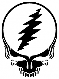 Ssckull clipart grateful dead