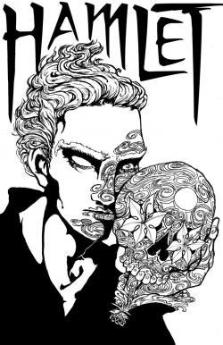 Sugar Skull clipart hamlet skull