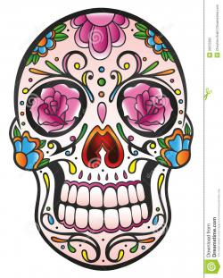 Sugar Skull clipart mexican