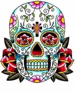 Sugar Skull clipart classic