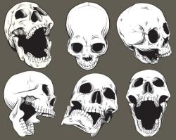 Ssckull clipart mouth