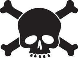 Ssckull clipart poison