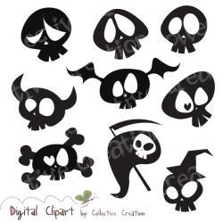 Skullcandy clipart silhouette