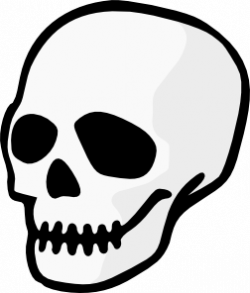 Ssckull clipart simple