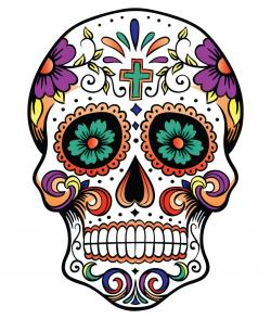 Sugar Skull clipart simple sugar