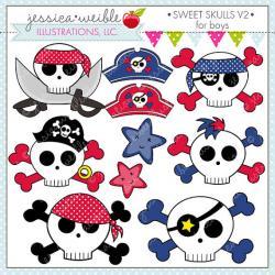 Ssckull clipart sweet
