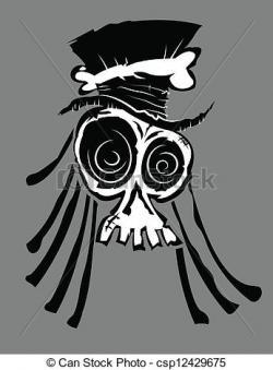 Ssckull clipart voodoo