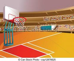 Stadium clipart basketball stadium