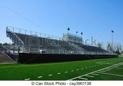 Stadium clipart bleachers