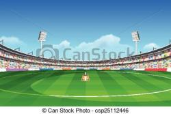 Stadium clipart cricket stadium