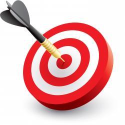 Target clipart bullseye