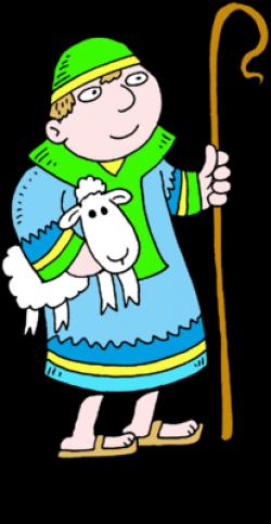 Shepherd Boy clipart cartoon