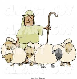 Staff clipart sheep