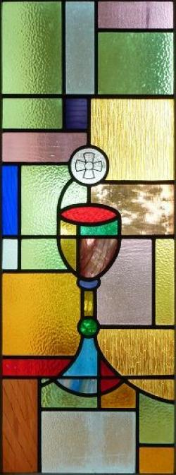 Stained Glass clipart communion cup