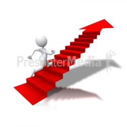 Arrow clipart staircase